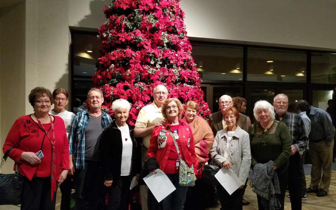 JOY Senior Ministry at the Singing Christmas Tree