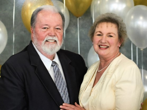 Seniors Director, Richard Williams & His wife Lydia Williams